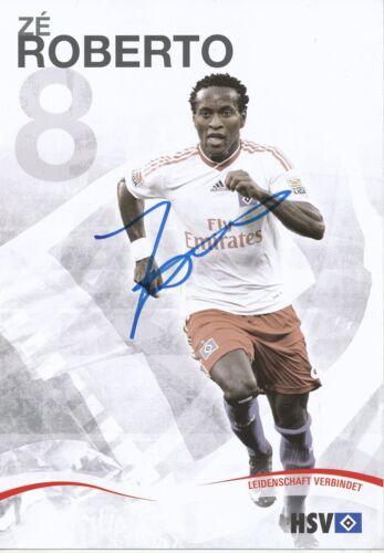 2010  Autogrammkarte signiert  278608 Ze Roberto   Hamburger SV  2009