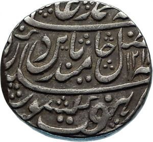 1799AD-INDIA-Baratpur-State-ANTIQUE-Authentic-Silver-Indian-Rupee-Coin-i65655