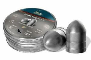 .177 airifle pellets x tin of 200. H and N rabbit magnum power 4.5mm