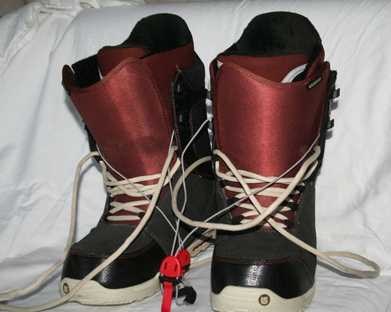 Burton RAMPANT Snowboard Boot -  Men's SIZE 12  limited edition