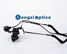 Small Lens 25x Large Field Of Vision Half Frame Dental Surgical Loupes Amp Light
