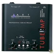 ART Pro Audio Tube MP External Microphone Mic Preamp w/ 48V Original Preamplfier