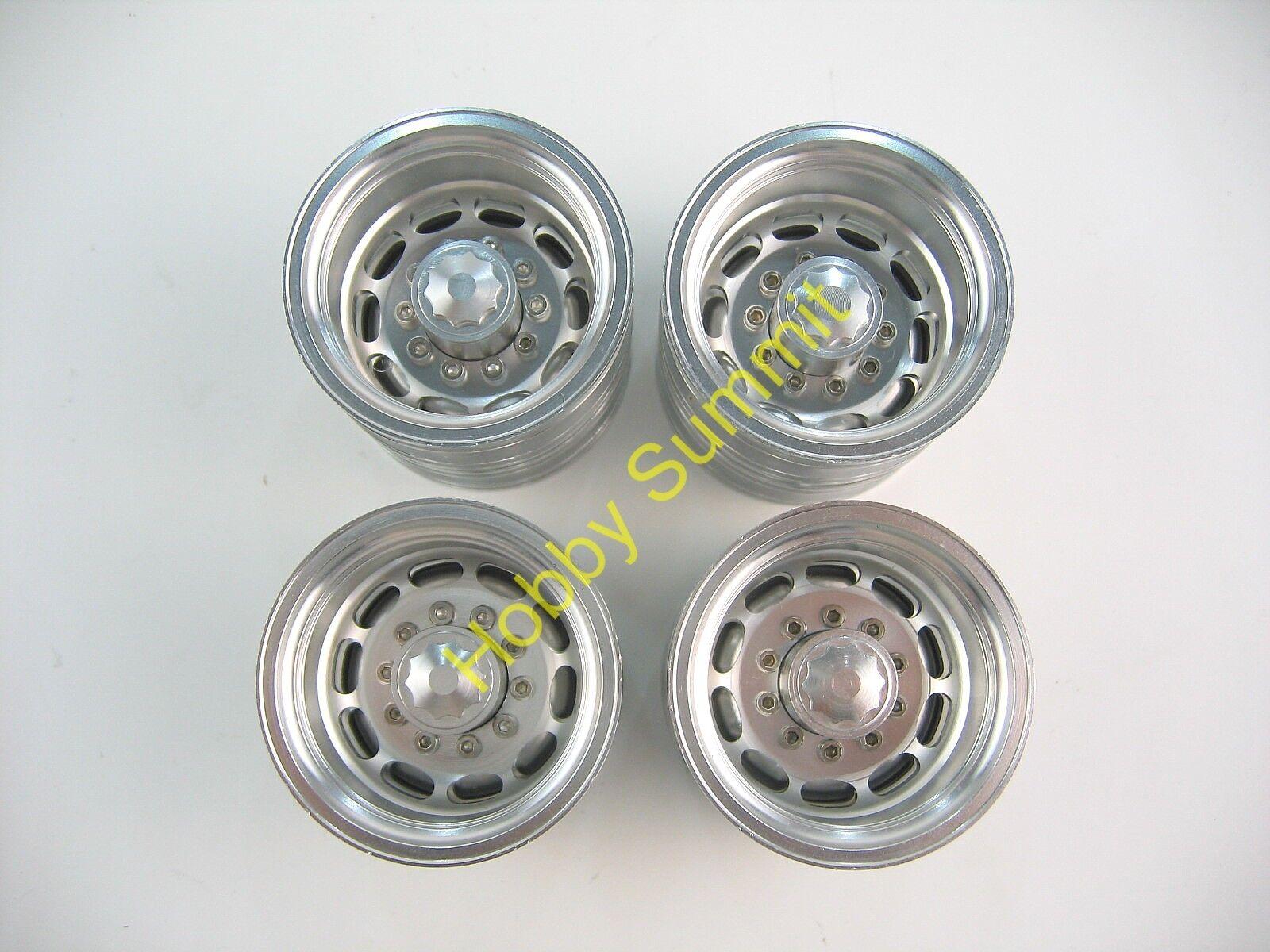 Conjunto C 1 14 semi-remolque ruedas de aleación Tamiya R C Camión Tractor 56302 56306 56310