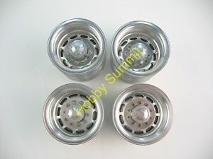 Set C 1/14 Semi-Trailer ALLOY WHEELS  Tamiya R/C Tractor Truck 56302 56306 56310