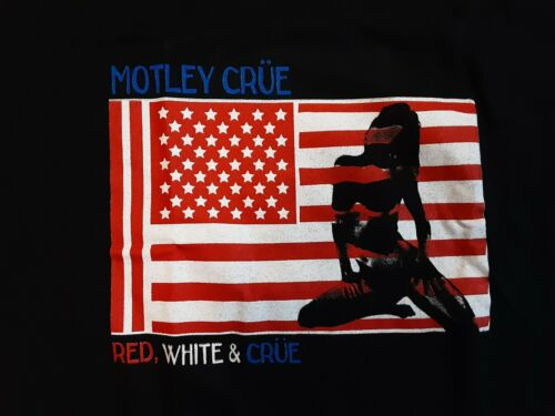 Motley Crue Red white and Crue tour 2005 T Shirt S