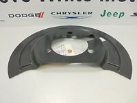 02-17 Dodge Ram 1500 Brake Dust Splash Shield Left Side Mopar Factory