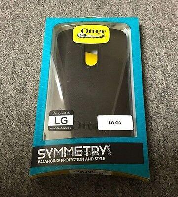 NEW Original Black Otterbox Symmetry Case cover for LG G3