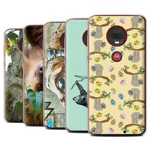Gel-TPU-Case-for-Motorola-Moto-G7-G7-Plus-Wild-Animal-Sloth