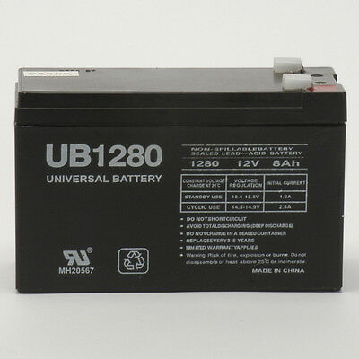 BP600 UPS 10 Pack Brand Product Mighty Max Battery 12V 8Ah Compatible Battery for APC Back-UPS 600