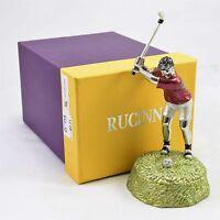 Rucinni Limoges Golfer In Swing Position Trinket Box