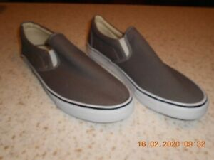 mens canvas upper casual shoes size 13 nw/ot  ebay