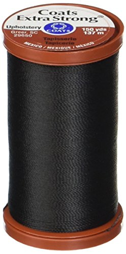 1 Black Coats /& Clark Extra Strong Upholstery Thread 1 Natural 1 Chona Brown Bundled with Singer Heavy Duty Needles Upholstery Repair Kit