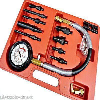 Compression Tester Diesel Engine Injector Glowplug Fuel Cylinder Pressure