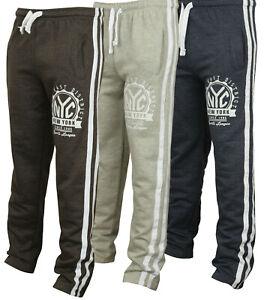 New-Mens-Tracksuit-Bottoms-Fleece-Trackies-Gym-Jogging-Joggers-Warm-Sweat-Pants