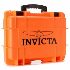 Invicta Men's Eight 8 Slot  Orange Dive,Diver Box Case Watch,New