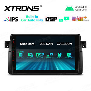 "9"" IPS Android 10.0 Autoradio GPS Navi DSP WiFi DAB+ RCA 2UI BT 5.0 für Für BMW"