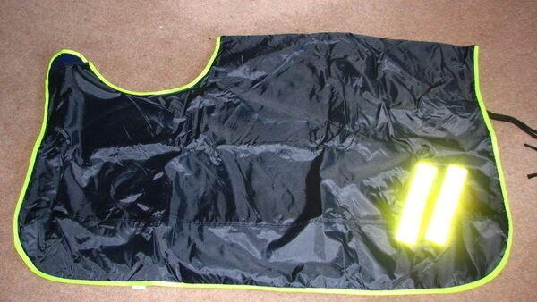 FSS Waterproof Fluorescent Reflective Wrap Around Cosy Fleece Exercise Sheet Rug