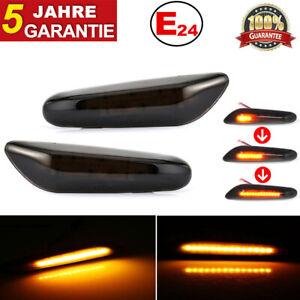 For-BMW-Dynamische-Blinker-Premium-Smoke-LED-Seitenblinker-E90-E91-E92-E93-E60