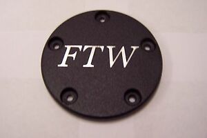 Custom points cover Fits Harley Davidson FTW 5 Hole