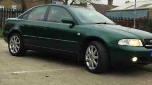 2000-AUDI-S4-A4-B5-1-8TQS-QUATTRO-AJL-BREAKING-PARTS-CACTUS-GREEN-REAR-WISHBONE