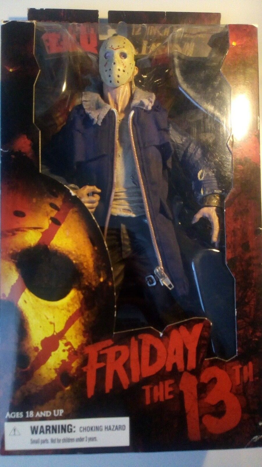 Mezco Cinema of Fear Deluxe Jason Voorhees Friday 13th 12  Remake 2009 Figure