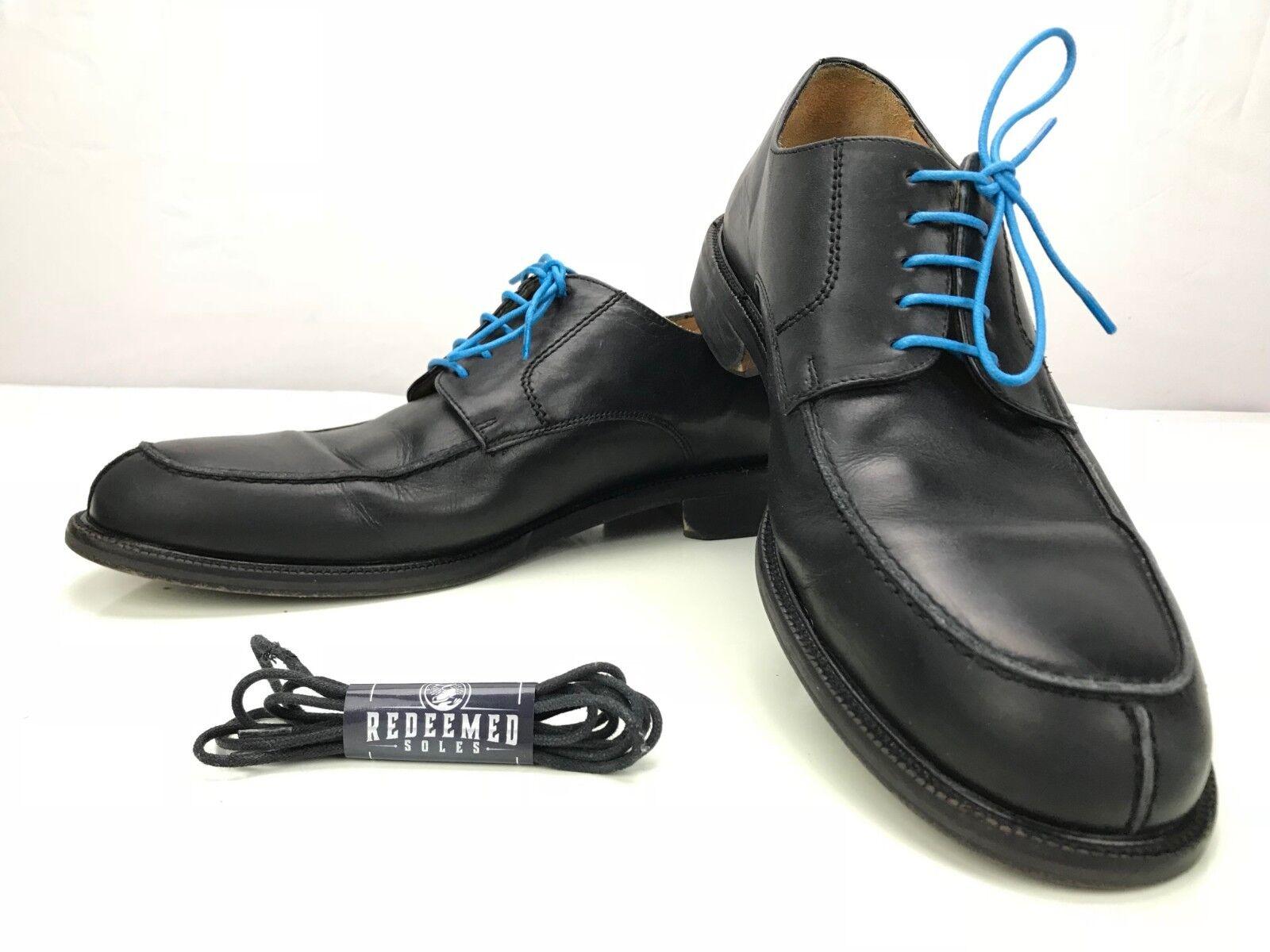 J Crew Split Toe Oxfords Casual Derby Leather Dress shoes  Mens 11 Black