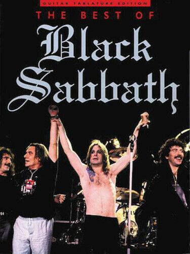 BLACK SABBATH GUITAR TAB BEST OF BLACK SABBATH TABLATURE ***BRAND NEW***