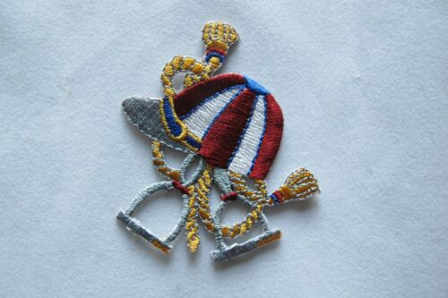 Cowboy Horseshoe,Stirrup,Rope,Hat,Crown,Ribbon Embroidery Iron On Applique Patch