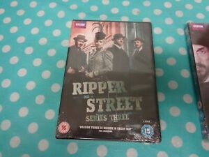 Ripper-Street-Series-3-DVD-2015-Richard-Warlow-cert-15-3-discs-free-postageuk