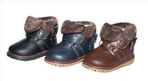 bebe-bottes-en-peau-de-mouton-Chaussures-d-039-hiver-enfant-thermo