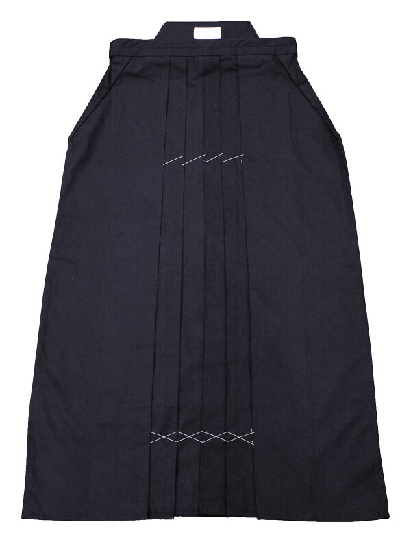 100% Authentic Kendo Uniform-Local Japanese Maker  Hakama (HA-01)(Only Navy) AU