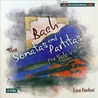 The Bach: The Sonatas and Partitas for Solo Violin (CD, Nov-2013, 2 Discs, Dynamic (not USA))