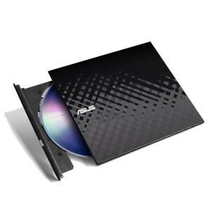 New ASUS Ultra Slim External DVD CD Writer Burner Drive ...