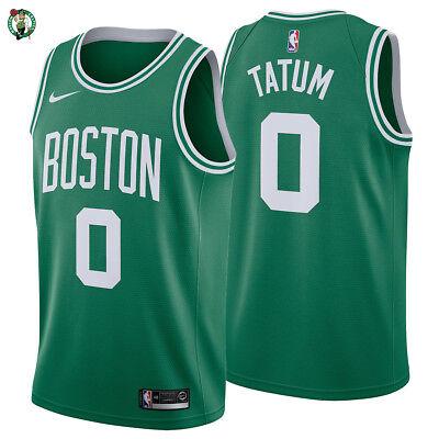 huge selection of 35ce5 ddb21 NEW 2018 Jayson Tatum Boston Celtics Nike Swingman Jersey Icon Edition #0  NBA   eBay