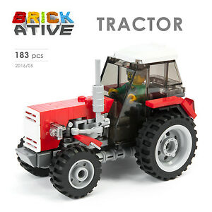 Lego-Custom-TRACTOR-INSTRUCTIONS-ONLY-instruction