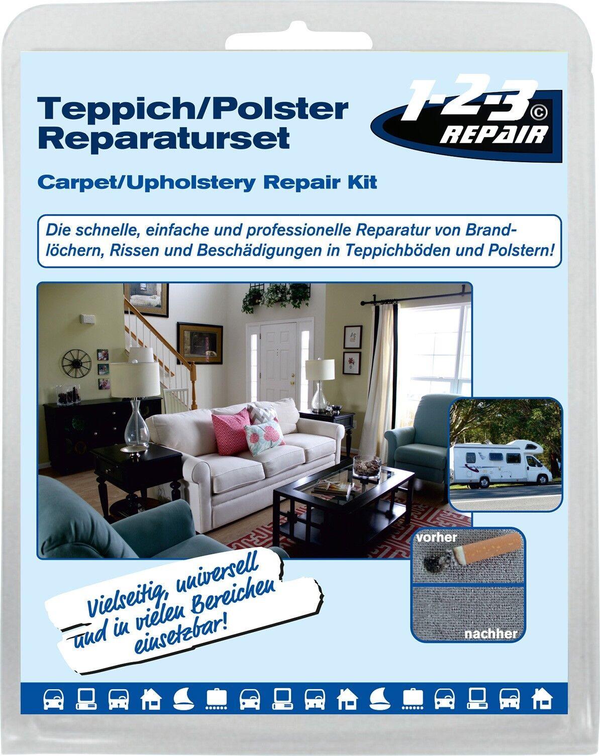 123repair polster reparatur set stoff reparatur set. Black Bedroom Furniture Sets. Home Design Ideas