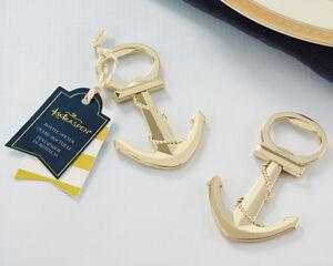 75  Anchor Nautical Themed Bottle Opener wedding favors Bridal Shower Favor