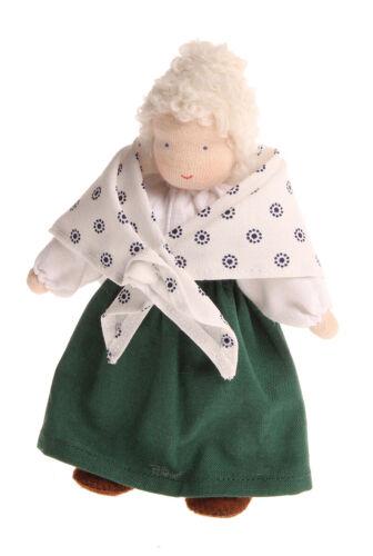 Grimm's Spiel und Holzdesign 20100 Puppenstubenpüppchen Oma Mathilda Stapelspiele