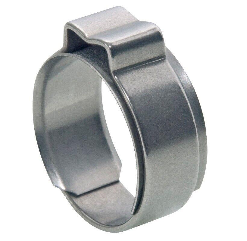 Stainless Steel 304 CLIP 14-16.3mm Single Ear Clamp + Insert Anneau