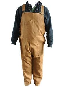 Khaki-bib-and-Brace-overall-Dungarees-100-Cotton-Great-for-WWII-Land-Army-New