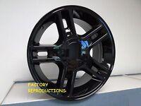 4) 22 Ford Harley Gloss Black Style Wheels Rims Set Fits 1997 - 2004 5 Lug F150