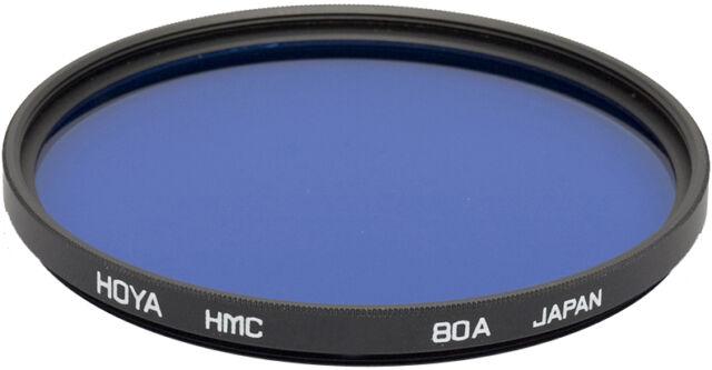 Hoya 77MM 80A Light Balancing HMC Filter. U.S Authorized Dealer