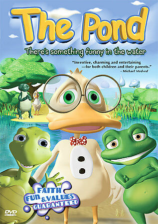 The Pond - Theres Something Funny In The Water DVD, 2005  - $0.99