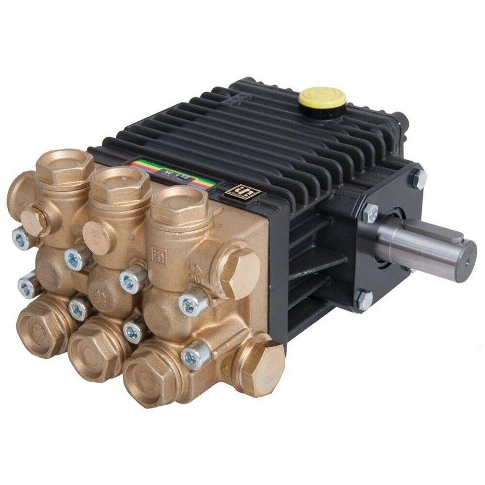 Interpump Group W140 Pressure Washer Jet Wash Genuine Solid Shaft Pump 2000psi
