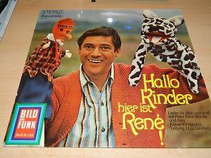 Hallo Kinder - Hier ist Rene - Lieder für Groß und Klein - Bild und Funk - LP - Deutschland - Vollständige Widerrufsbelehrung -------------------------------------- Widerrufsbelehrung & Widerrufsformular -------------------------------------- Verbrauchern steht ein Widerrufsrecht nach folgender Maßgabe zu, wobei Verbraucher jede na - Deutschland