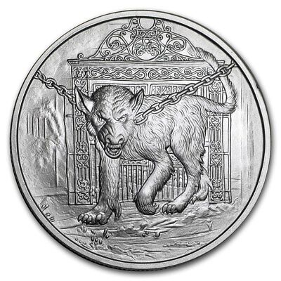 1 OZ .999 SILVER COIN FROST GIANT NORDIC CREATURE SERIES 2ND IN SERIES #CERT