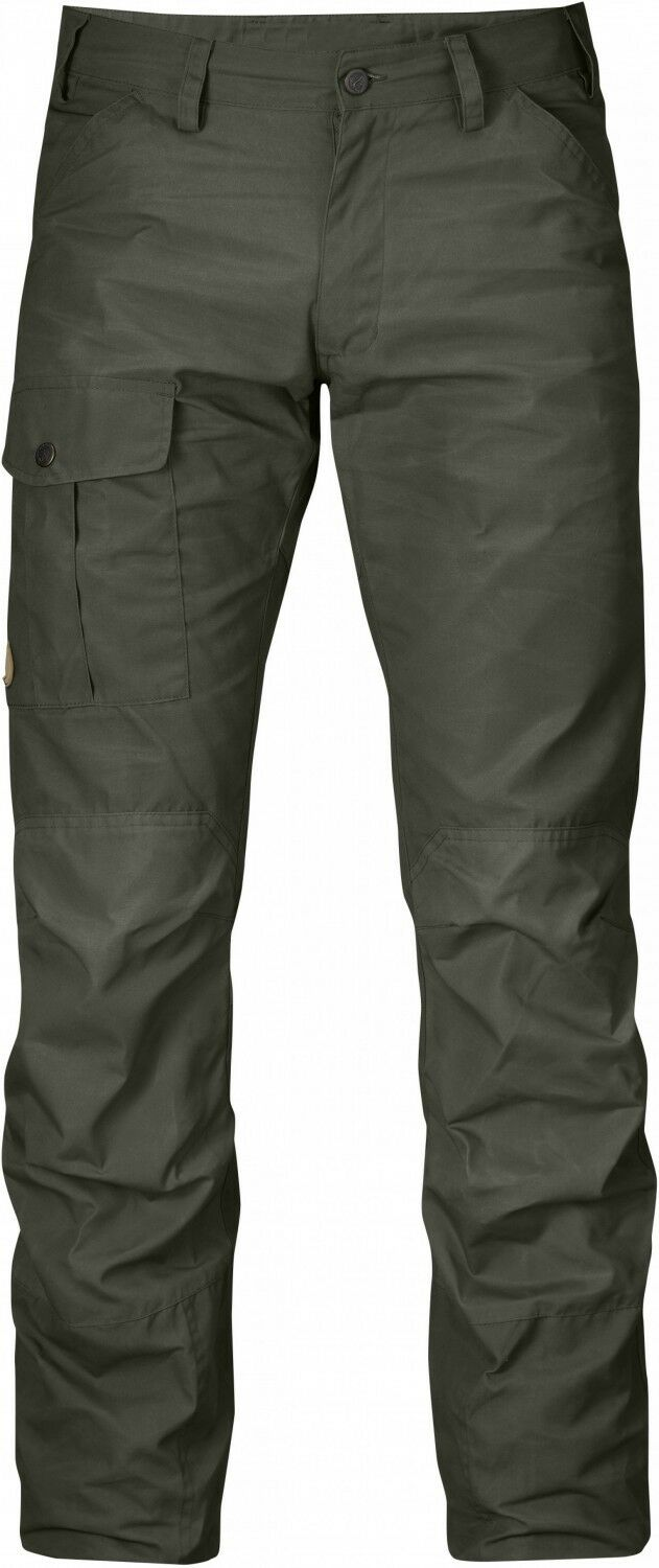 Fjällräven Nils Trousers Herren Outdoor Trousers Hiking Hose Mountain grau