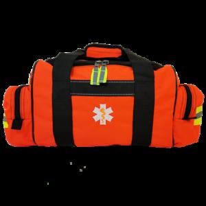 ELITE FIRST AID First Responder Bag STOCKED Emergency EMS Medic Kit ORANGE