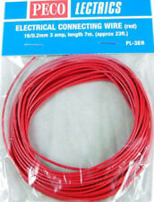 Peco PL-38R Red 16 Gauge 23 Foot Connecting Wire All Scales