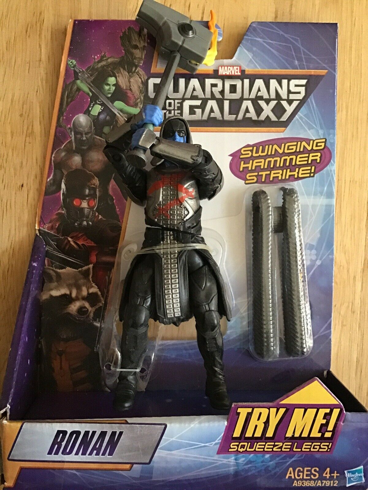 "Ronan 6/"" inch//ca 16cm Figure Hasbro MARVEL Legends Guardians of the Galaxy"